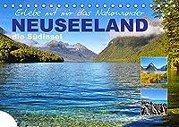 Erlebe mit mir das Naturwunder Neuseeland die Suedinsel (Tischkalender 2022 DIN A5 quer): Die Suedinsel Neuseelands besticht durch seine abwechslungsreiche Natur. (Monatskalender, 14 Seiten )
