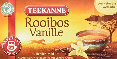 Teekanne Rooibos Vanille, 6er Pack (6 x 35 g)
