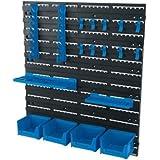 Draper 22295 - Estantería para colgadores de garaje (18 unidades)