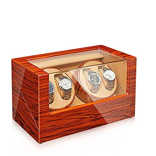 LYLSXY Watch Winders Box para Relojes Automáticos con Motor Extremadamente Silencioso, Almohadas De Relojes Ajustables (Color : J)
