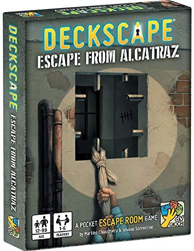 dV Giochi Deckscape: Escape from Alcatraz - English