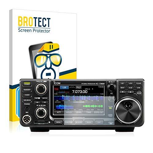 BROTECT Protector Pantalla Compatible con Icom IC-7300 Protector Transparente (2 Unidades) Anti-Huellas