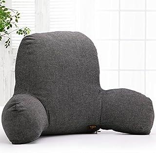Kenmont - Coussin de lecture lombaire classique - Avec insert en coton et housse amovible - Pour canapé, voiture, c...