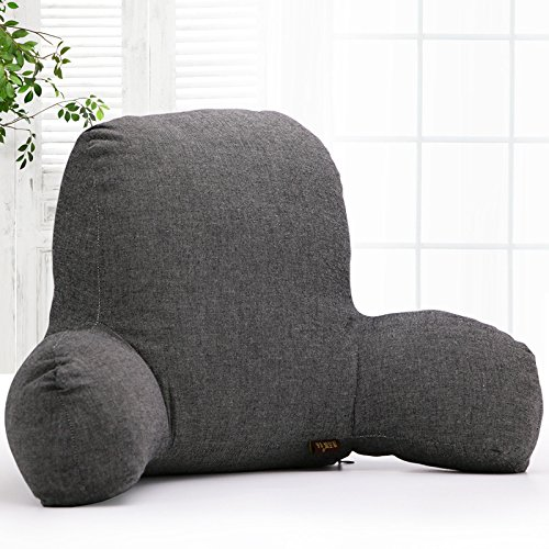 Kenmont Classic Reading Pillow Lumbar Support Cushion Back Support...