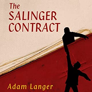 The Salinger Contract audiobook cover art