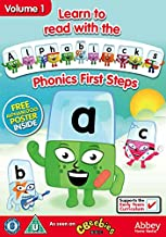 Learn To Read With Alphablocks - Phonics First Steps Volume 1 [Reino Unido] [DVD]