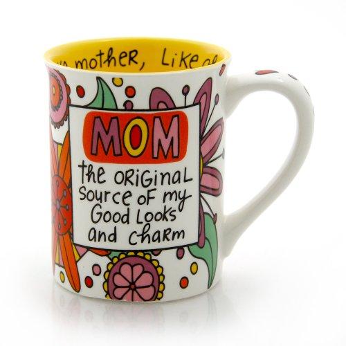 """Our Name is Mud """"Mom the Original"""" Stoneware Mug, 16 oz."""