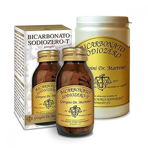 Dr. Giorgini Integratore Alimentare, Bicarbonato Sodiozero Polvere - 300 g