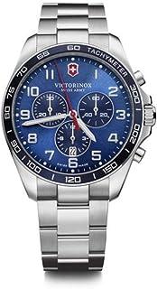 Victorinox Fieldforce Classic Chrono, Blue dial, Bracelet