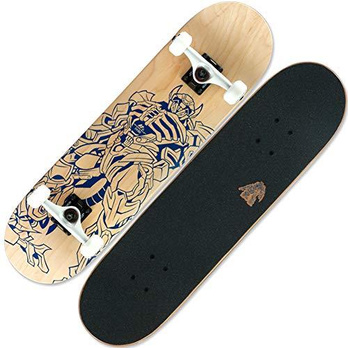 Professionelles Skateboard Für Erwachsene Komplettes Rad Truck Maple Deck Solid Longboard,A