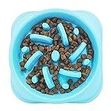 Fressnapf Hundenapf Anti Schling für die langsame Fütterung Interaktive Napf | Rutschfest| Spülmaschinenfest|für Hund und Katzen