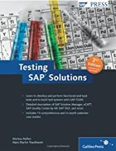 Testing SAP Solutions 2nd Edition by Helfen, M, Trauthwein, H (2011) Hardcover