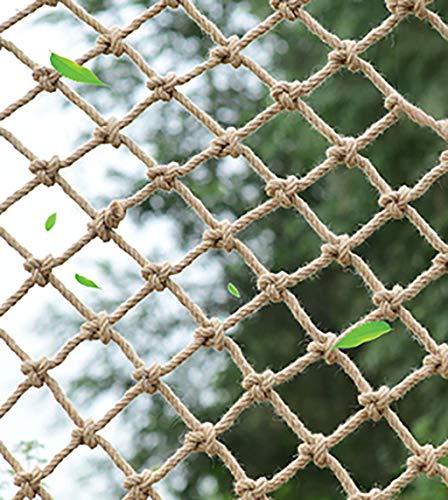 Climbing Cargo Net For Kids Ninja Net Climbing Swingset Polyester Rope Ladder For Jungle Gyms Playground Ribbon Net Obstacle Course Training Climbing Net For Outdoor Treehouse (8m(Size:3*4m (10*13ft))