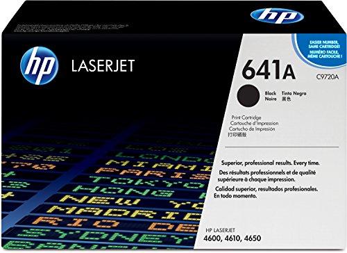HP 641A (C9720A) Schwarz Original Toner für HP Color Laserjet 4600, HP Color Laserjet 4650