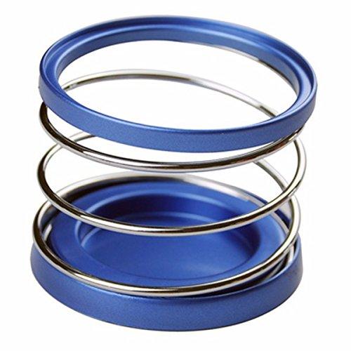 YONGYAO Voiture Porte-Gobelet Support Bouteille De Voiture Accessoires Intérieurs Bleu Ruban 84 * 70Mm-Bleu