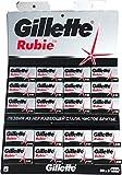 100 Rubie Double Edge Safety Razor Blades