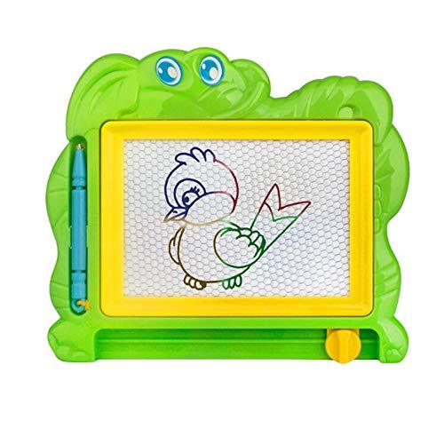 Ogquaton Magnetisches Zeichenbrett Skizzenblock Doodle Writing Craft Art für Kinder Kinder Early Learning Toy Zufällige Farbe und Stil Praktisch