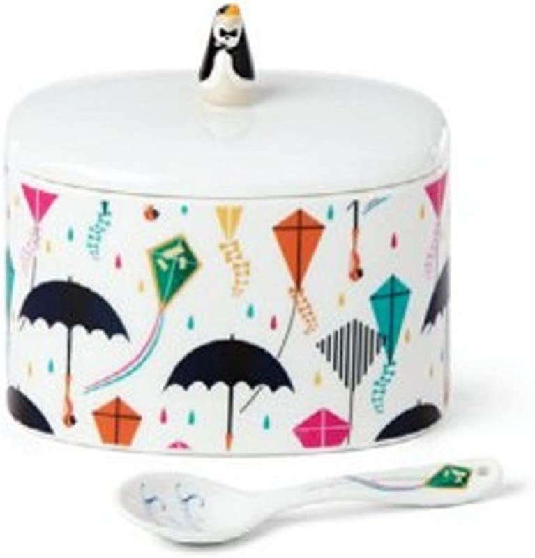 Lenox 886919 Disney Mary Poppins Returns Sugar Bowl With Spoon