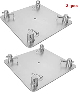 """XuSha 12"""" x 12"""" Aluminum Truss Base/Top Plate 8 mm Thickness For F34 Truss Box Delivered within 3-5 days(2 Pack)"""