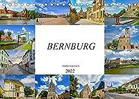 Bernburg Impressionen (Tischkalender 2022 DIN A5 quer): Bernburg - wunderschoene Stadt in Sachsen Anhalt (Monatskalender, 14 Seiten )