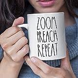 Taza de café Zoom Preach Repeat
