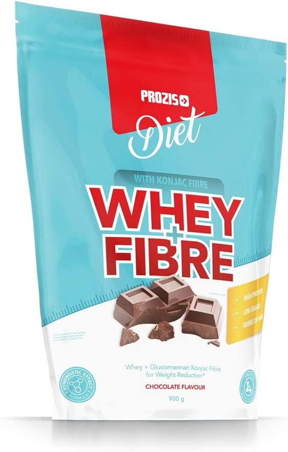 Prozis Whey + Fibre 900 g Vainilla Ideal Para Dietas De ...