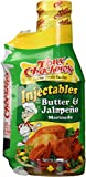 Tony Chachere's Creole Butter and Jalapeno Marinade, 17 Oz (Pack of 1)