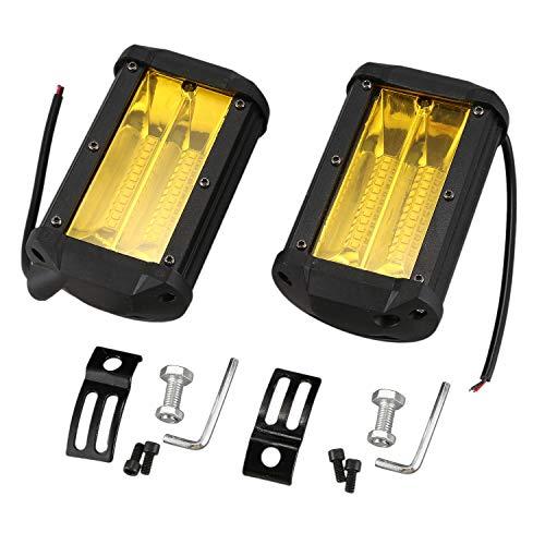 ACAMPTAR 2pzs Impermeable 5 pulgadas 72W LED Luz del trabajo para SUV Todoterreno Camion lampara antiniebla de conduccion