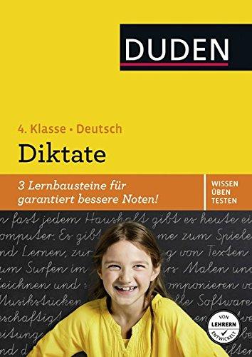 Wissen – Üben – Testen: Deutsch – Diktate, 4. Klasse