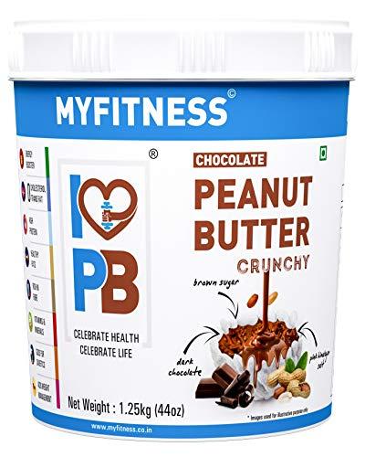 MYFITNESS Chocolate Peanut Butter Crunchy 1250g