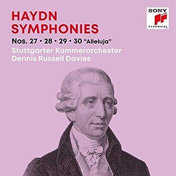 "Haydn: Symphonies / Sinfonien Nos. 27, 28, 29, 30 ""Alleluja"""