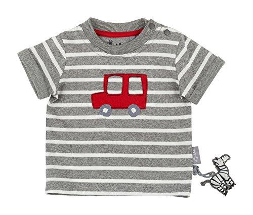 Sigikid Sigikid Baby-Jungen T-Shirt, Grau (Anthracite Melange 10), 62