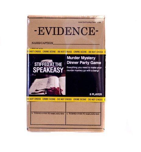 Murdery Mystery - Stiffed at the Speakeasy (8 Player)