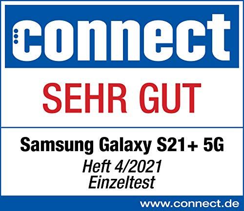 Samsung Galaxy S21+ 5G, Android Smartphone ohne Vertrag, Triple-Kamera, Infinity-O Display, 256 GB Speicher, leistungsstarker Akku, Phantom Silver - 8