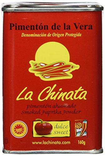 La Chinata Pimentón de la Vera Dulce - geräuchertes Paprikapulver, 1er Pack (1 x 160 g)