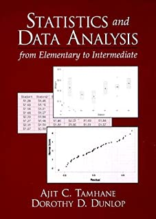 Statistics and Data Analysis: From Elementary to Intermediate