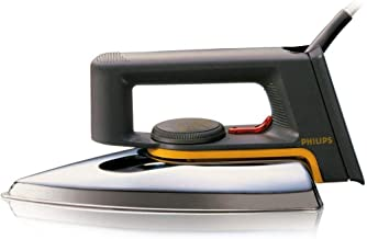 Philips HD1172 Classic Dry iron Linished Soleplate - 1000 Watts, Multi Color
