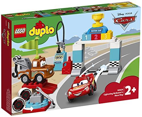 LEGO10924DuploCarsDíadelaCarreradeRayoMcqueenJuguetedeConstrucción
