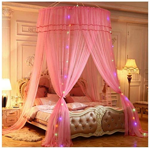Why Choose Dirty hamper Bed Cover Bed Canopy, Mosquito Net Bed, Princess Lace Encryption Canopy Floo...