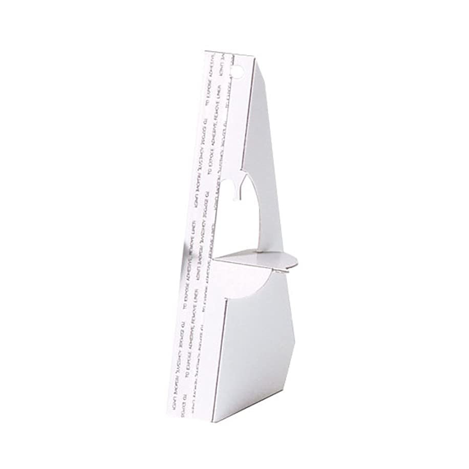 Lineco Self-Stick Easel Back, 3 inches, White, Package of 25 (L328-1233)