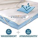 PROCAVE wasserdichter Matratzenschoner Kinderbett 70 x 140 cm - atmungsaktive Matratzenauflage, Made in Germany, weiß, Matratzenschutz ohne Knistern
