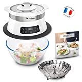 Moulinex VJ504010 VJ504-STEAM'UP VJ504 - Cocina de vapor Steam'UP, color blanco