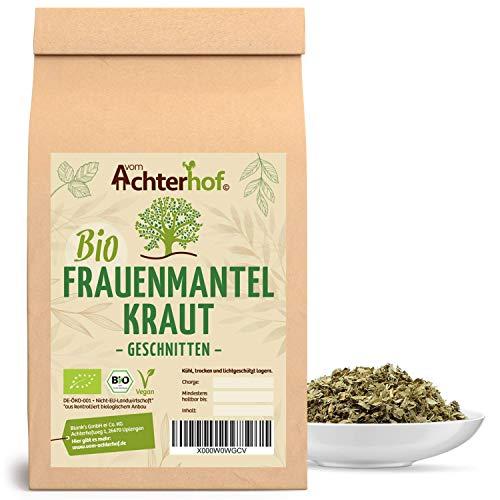 Frauenmanteltee Bio (250g) Frauenmantel-Kraut Tee | Schadstoffkontrolliert | aus kontrolliert biologischen Anbau | vom Achterhof