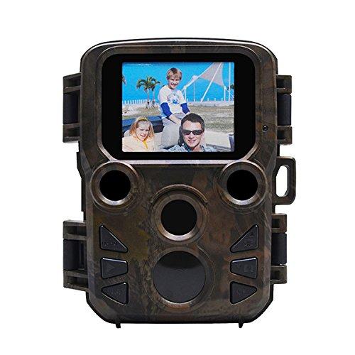 Bluelover H501 Mini jachtcamera infrarood bewegingsdetectie lange stand-by & 20 m gamma van Ir Flash