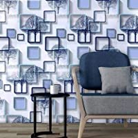 Pre-pasted - Very esay and convenient to use. The glue is getting stronger as the wallpaper is hanging on wall longer. Avoid falling off from wall and bubbles. Applicable to any smooth and clean wall. Allow to reposit and remove. Ideal for decoration...