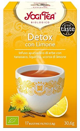 Yogi Tea Infusion de Hierbas Detox con Limon - 17 bolsitas
