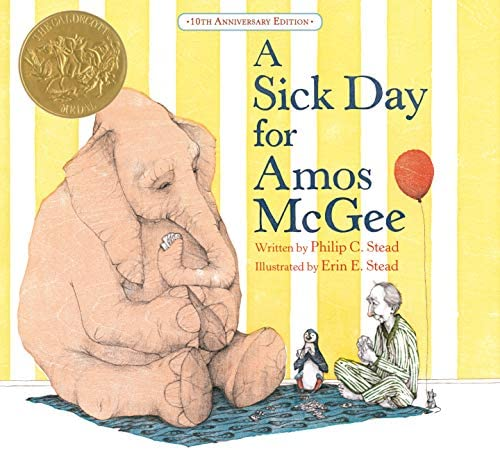 A Sick Day for Amos McGee 10th Anniversary Edition product image