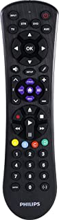 Best Philips Universal Remote Control for Samsung, Vizio, LG, Sony, Sharp, Roku, Apple TV, RCA, Panasonic, Smart TVs, Streaming Players, Blu-ray, DVD, 4-Device, Black, SRP9243B/27 Review