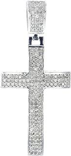 Best mens silver diamond pendant Reviews