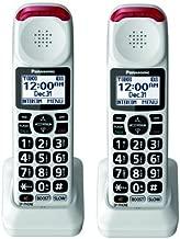 Panasonic KX-TGMA44W Additional Cordless Handset for KX-TGM420W (2-pack)